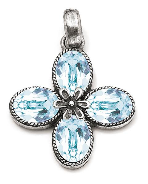 Light Azure Meadow Beauty Pendant (EN1801)